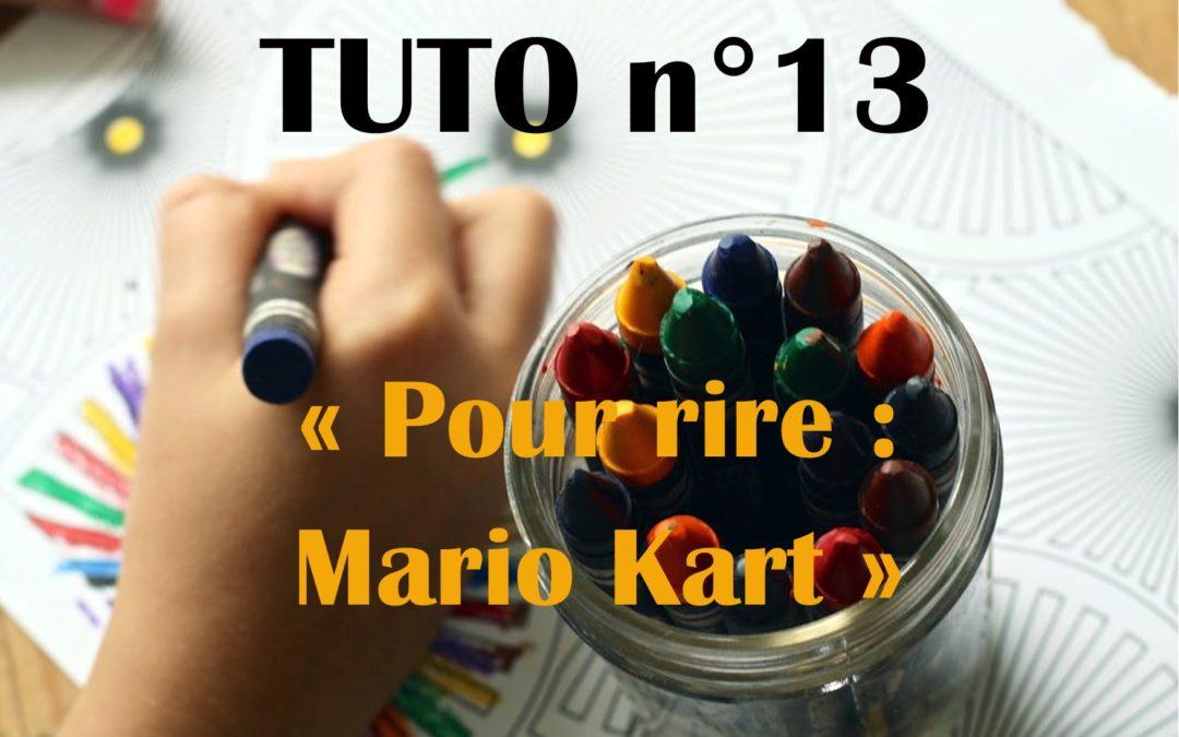 Vidéo pour rire: Mario Kart à Brassens !