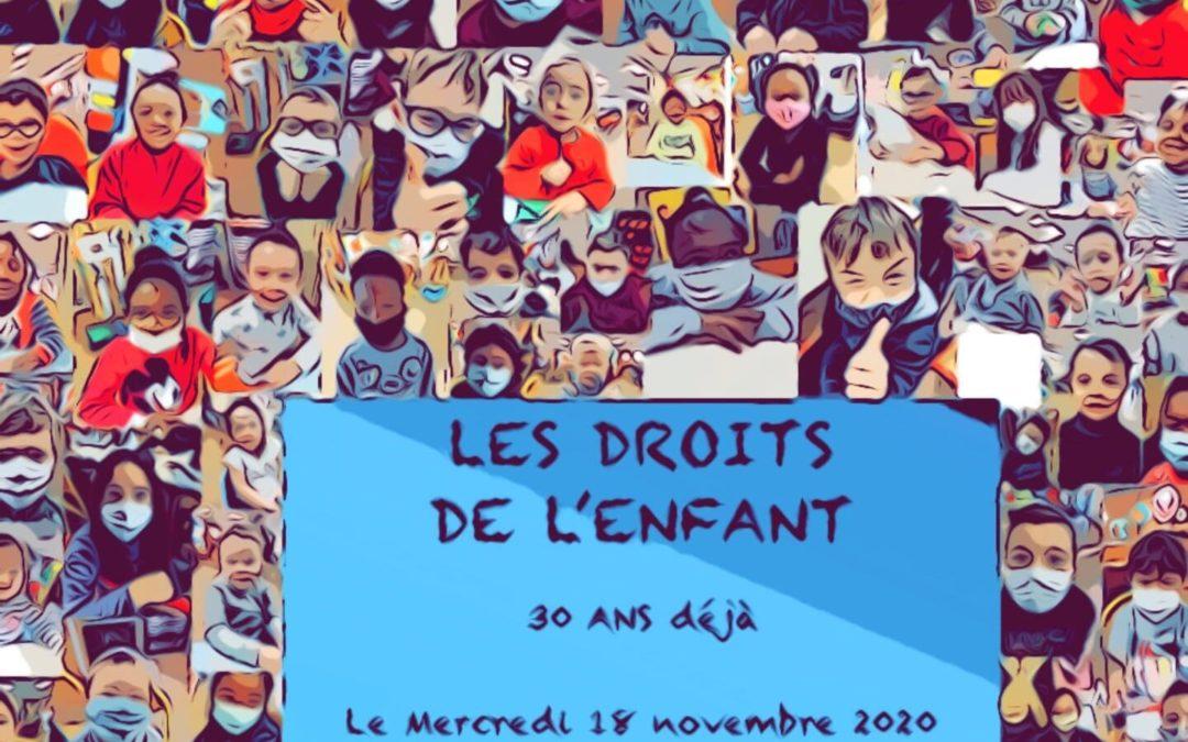 Journée des droits de l'enfant, mercredi 18 novembre 2020