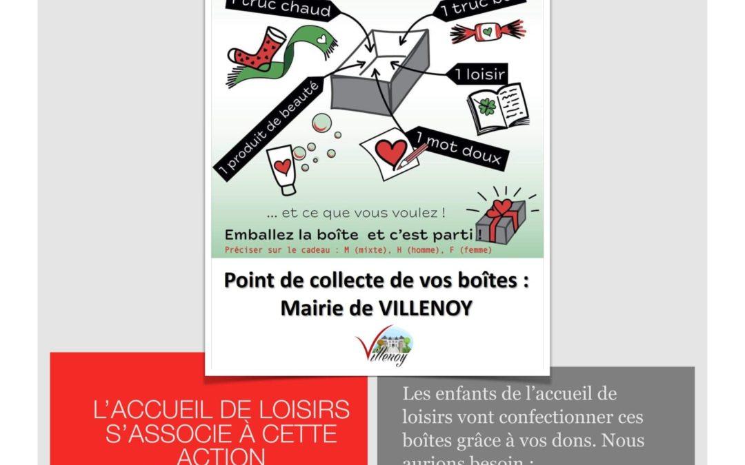 """Actualité : """"Les Boites de noël"""""""
